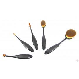 Set 5 Pensule Ovale Makeup