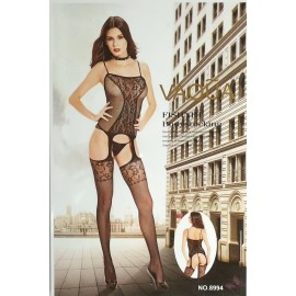 LENJERIE INTIMA SEXY DAMA CATSUIT BODY STOCKINGS BABYDOLL- COD 8994
