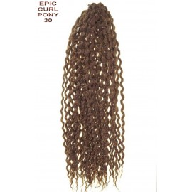 CURLY CROCHET BRAIDS AFRO BRAZILIAN BUCLE SUVITE ONDULATE SINTETIC PAR EXTENSII INTRETINERE OMBRE REZISTA SPICURI