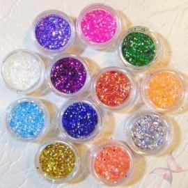 Aplicatii Unghii Sclipici Glitter